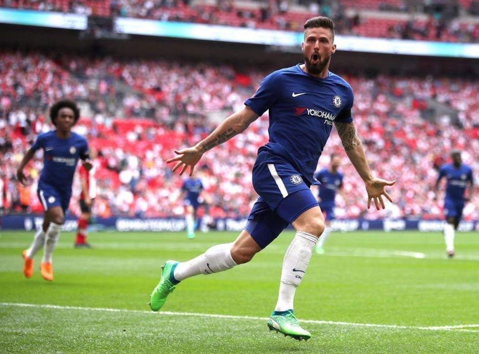 Goals from Olivier Giroud and Alvaro Morata sealed Chelsea's place in the final
