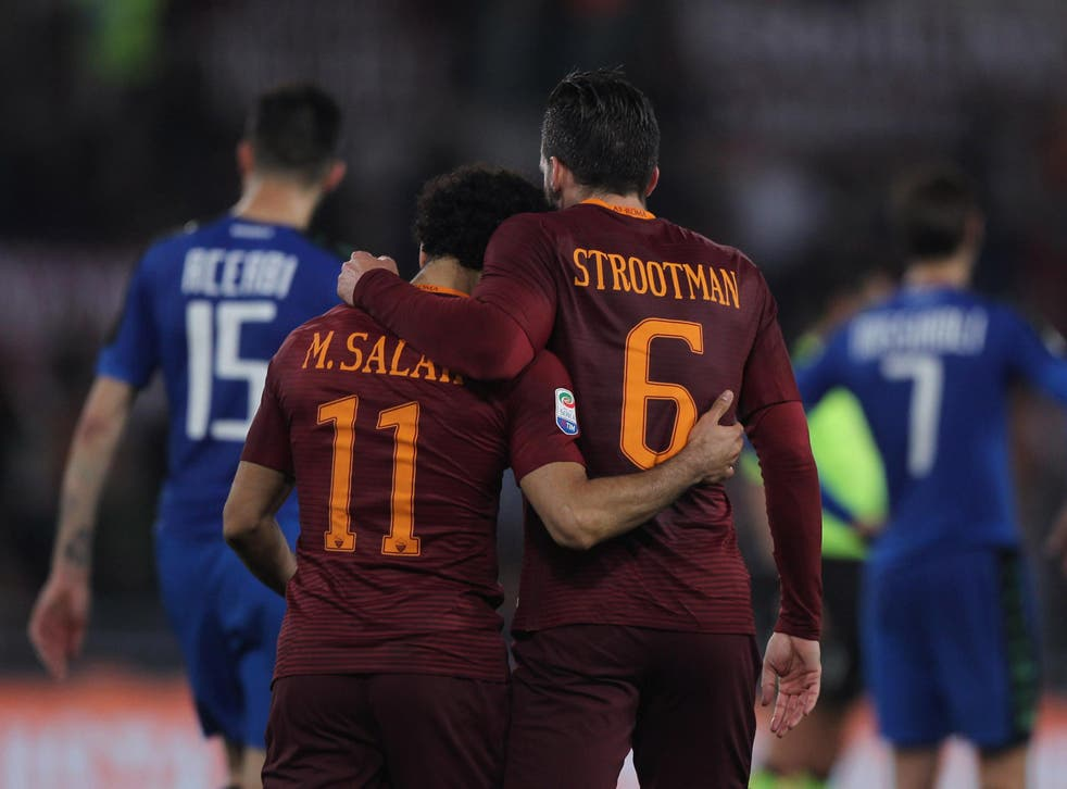 Strootman is surprised by Salah's goals for Liverpool