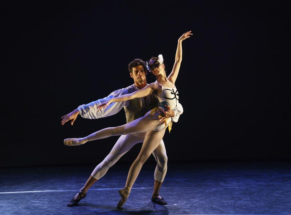Thiago Soares and Lauren Cuthbertson in 'House of Birds'