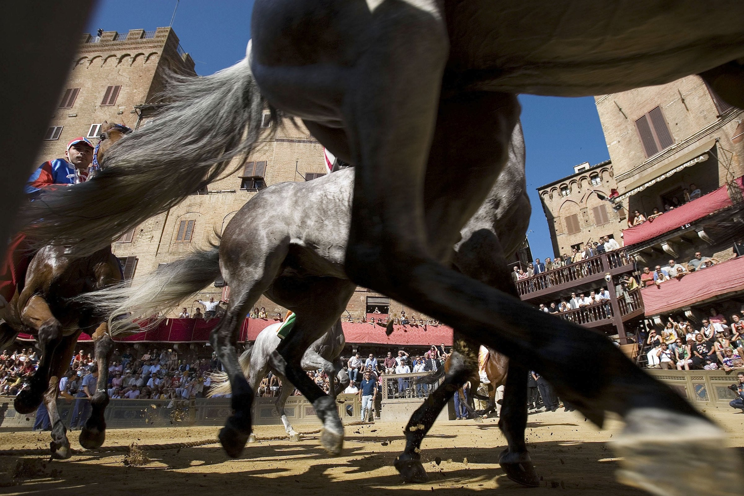 What it's like to witness the Palio di Siena, possibly the most