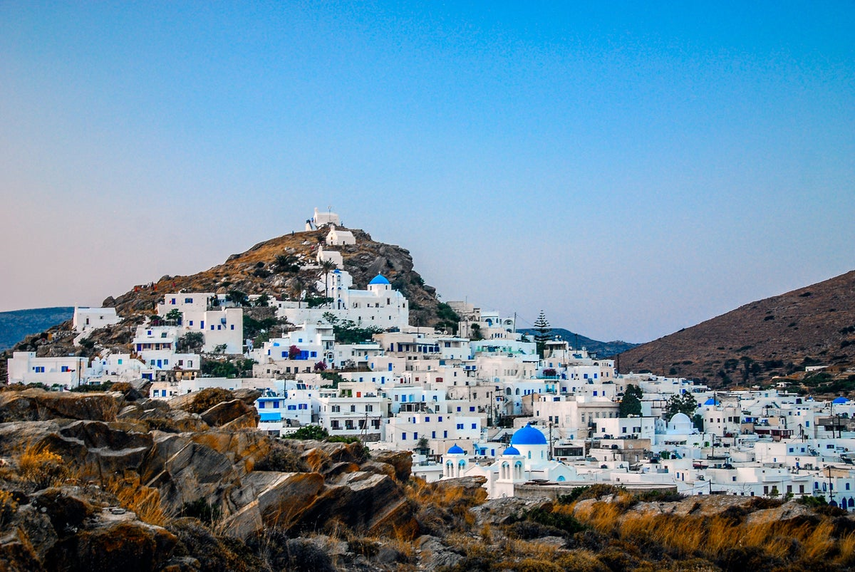 Why You Should Swap Santorini For Ios The Instagram Worthy Greek Island That S On The Up The Independent The Independent