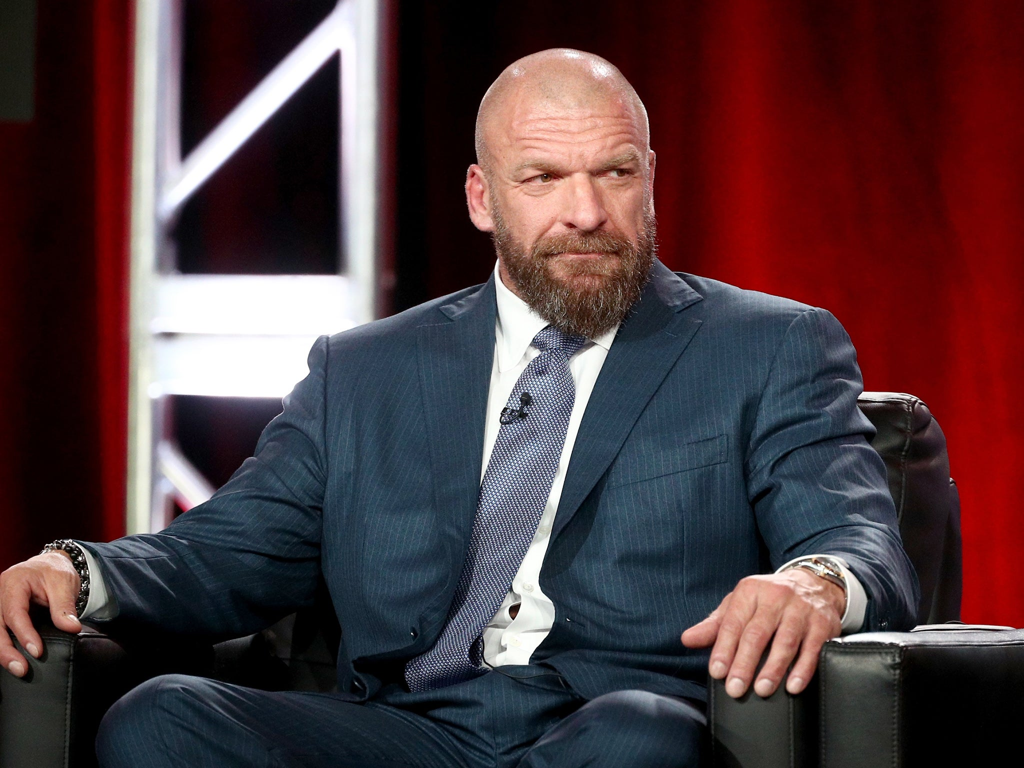 Image result for Triple H Talks Women Not Competing At Friday's 'Greatest Royal Rumble' Event