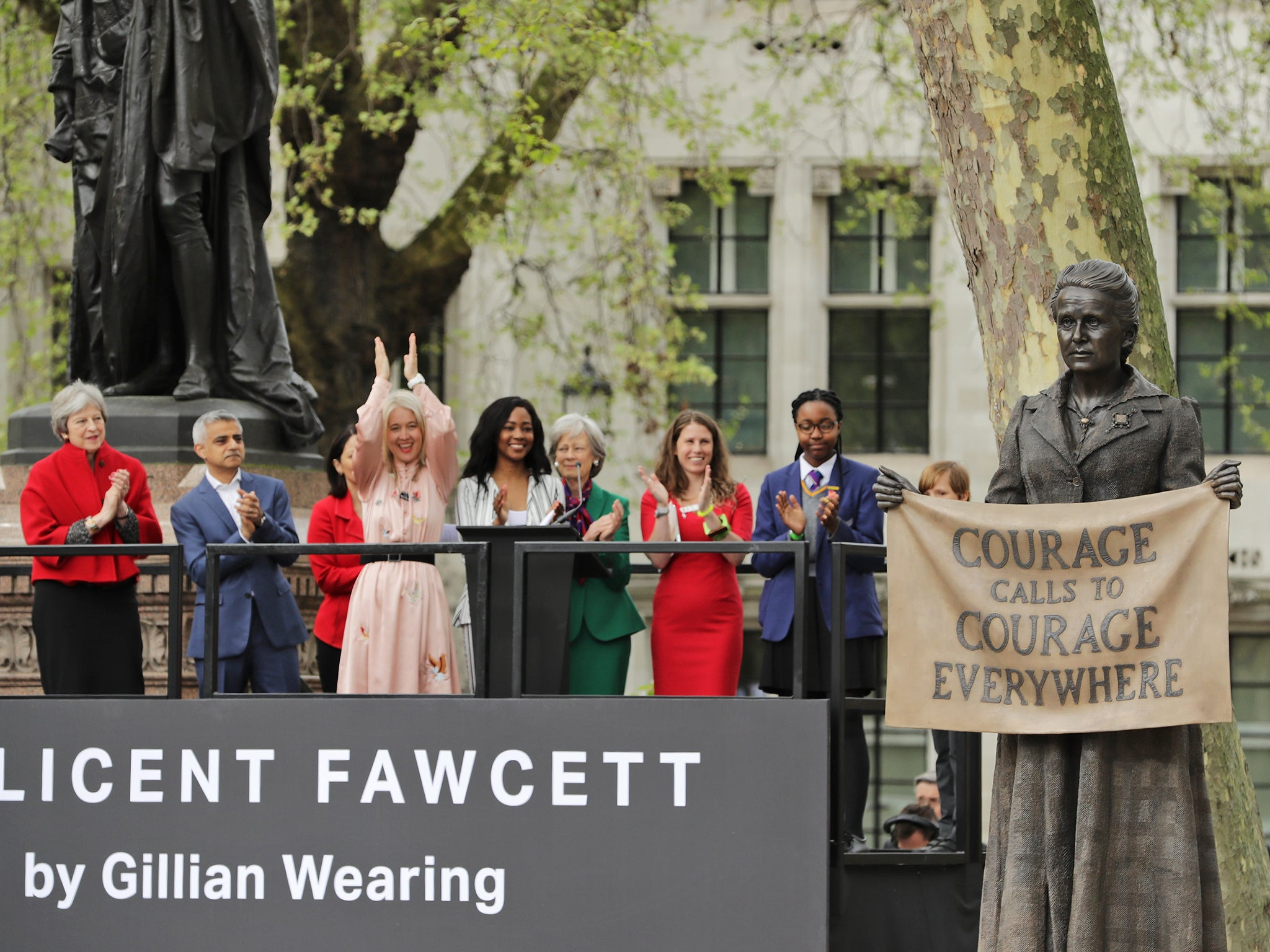 Millicent Fawcett: Suffragist honoured with first statue of