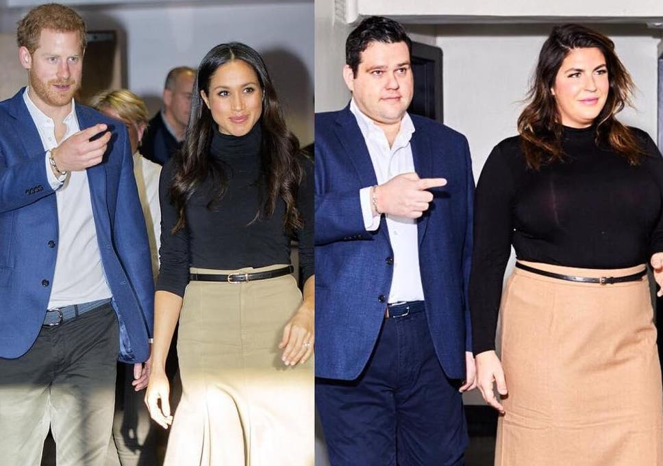 Plus Size Bloggers Recreate Meghan Markle And Prince Harry S Outfits