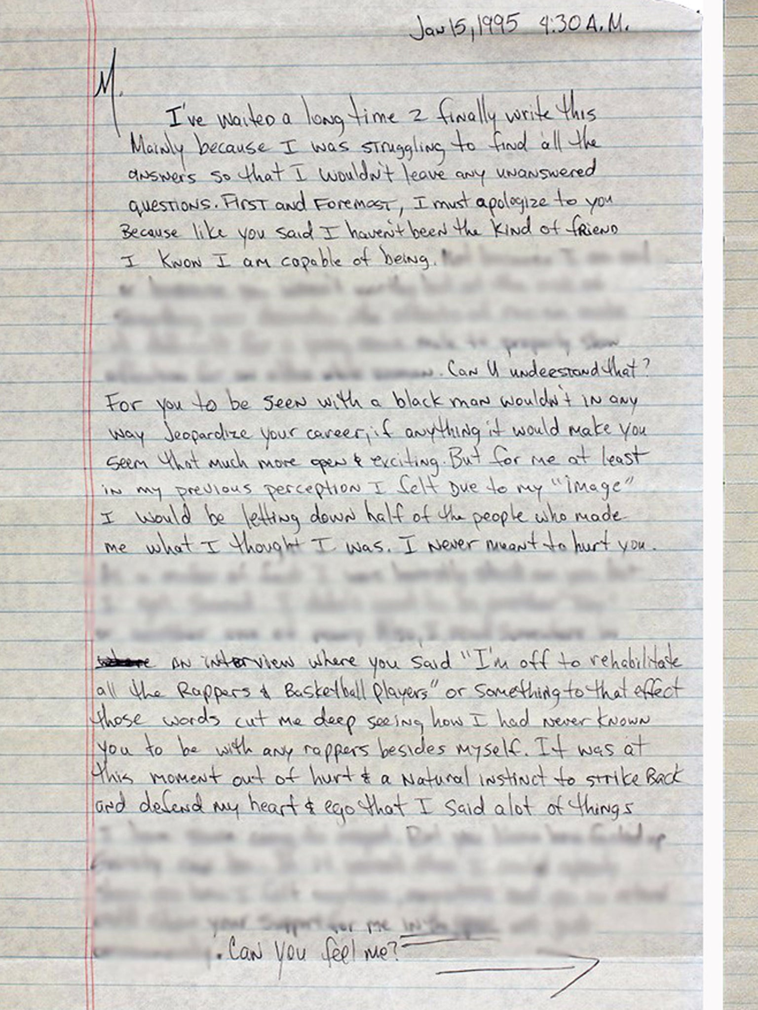 TupacS BreakUp Letter To Madonna In Full  The Independent