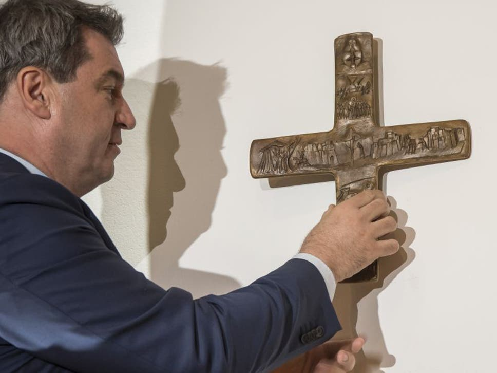 German State Orders All Government Buildings To Display A Christian