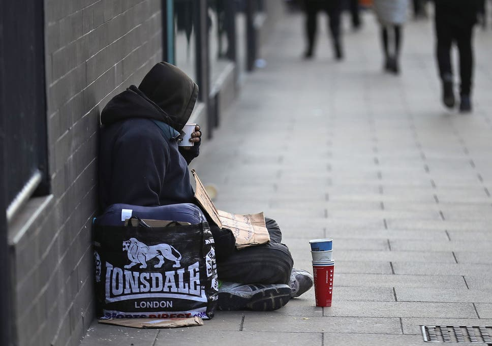 Homeless man who tried to buy food and toothpaste with fake