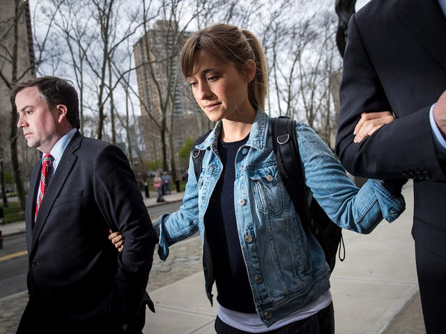 Mack leaves US District Court after a bail hearing in Brooklyn yesterday
