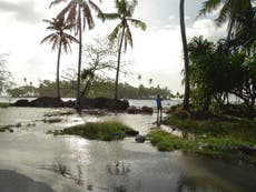 Rising seas could make many islands uninhabitable within decades