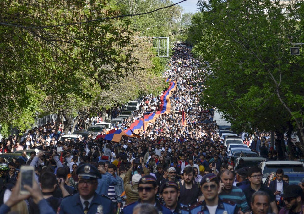 Armenian genocide: Thousands march around world to commemorate and