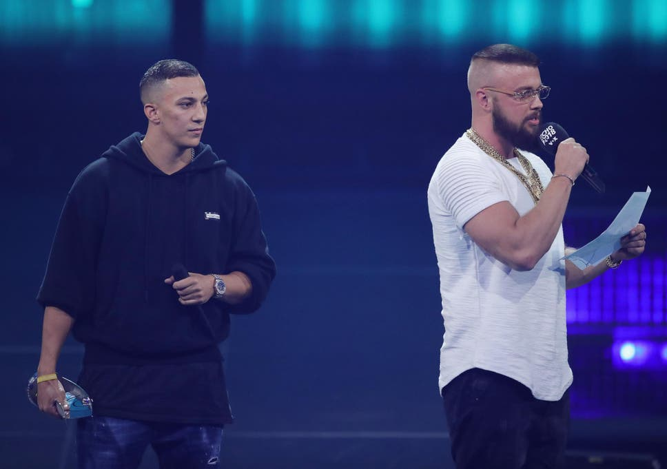 Germany scraps top music prize after rap duo wins for album
