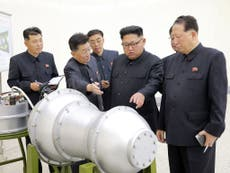 North Korea's nuclear test site has collapsed, say geologists