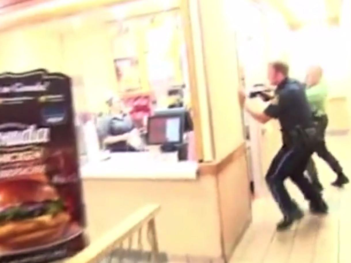 Footage of moment TV filmmaker was accidentally shot dead by