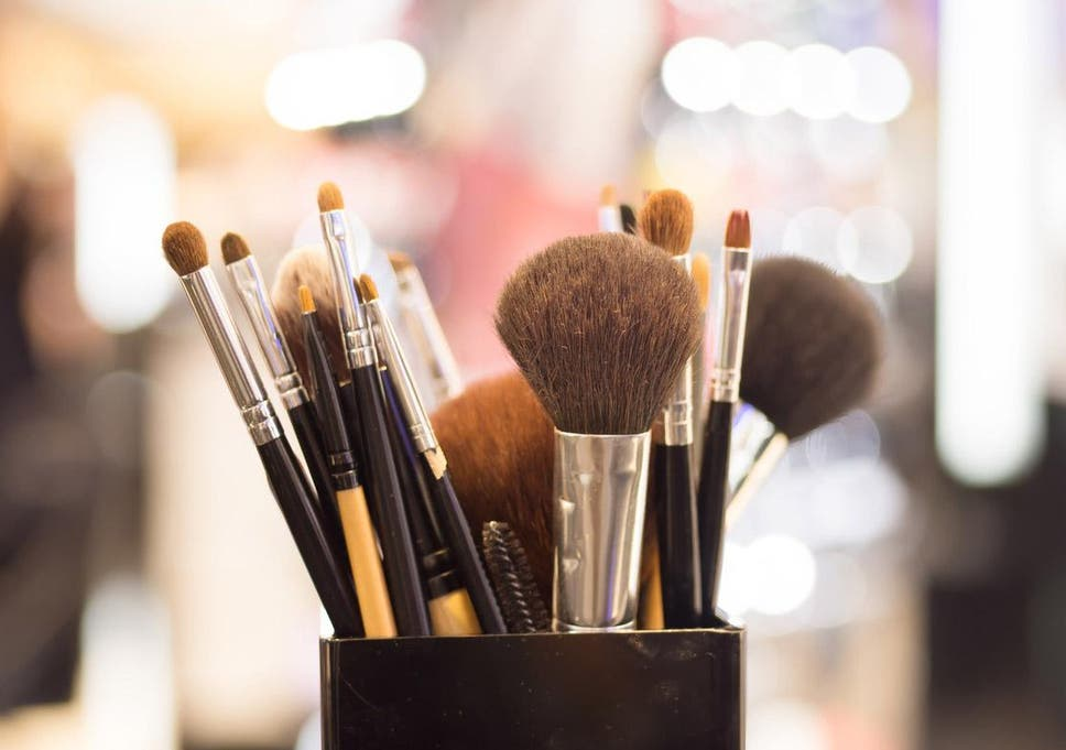 Image result for makeup brushes cleaning
