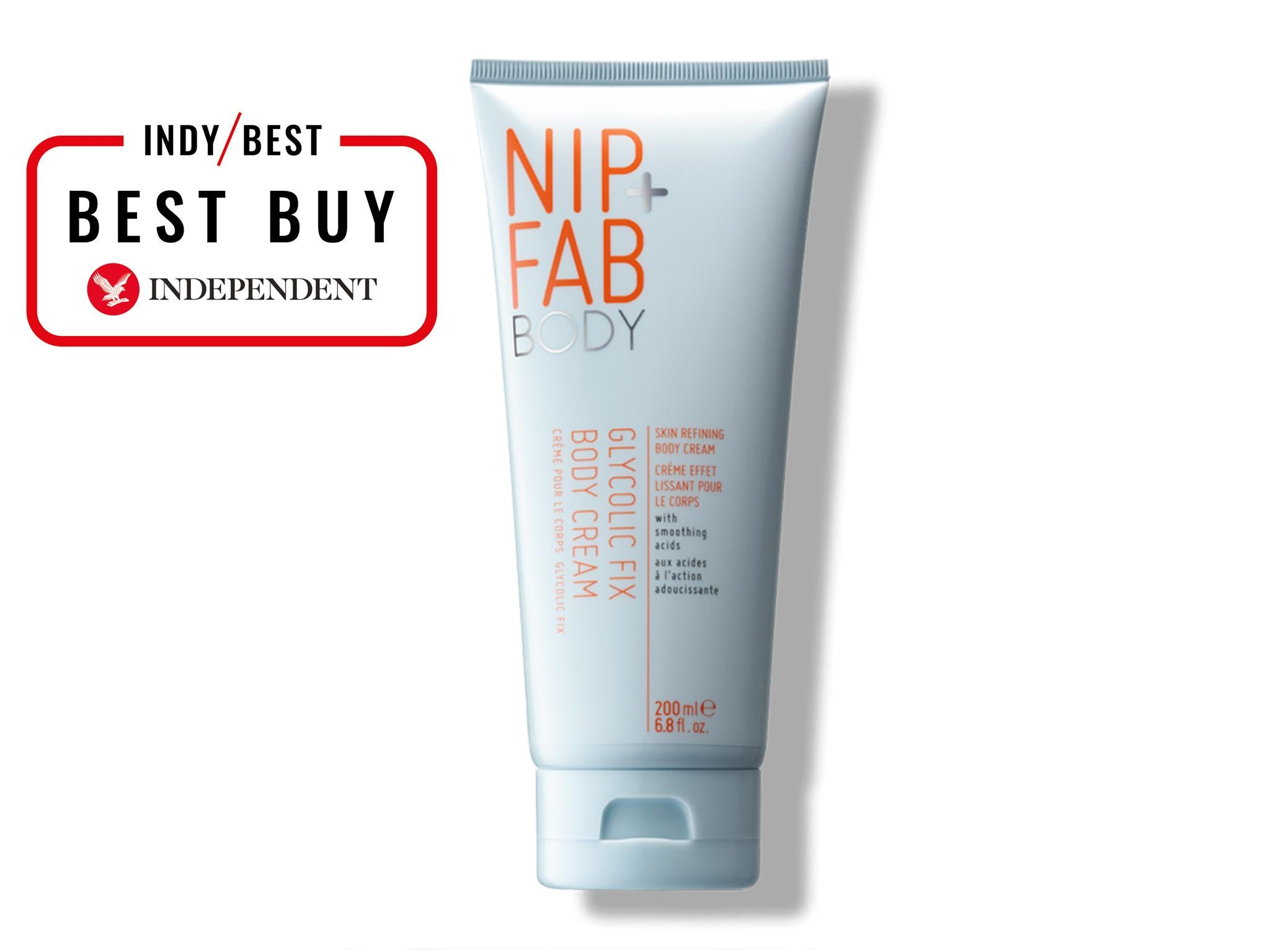10 Best Body Skincare Products The Independent Divine Cream Nip Fab Glycolic Fix 799 Amazon