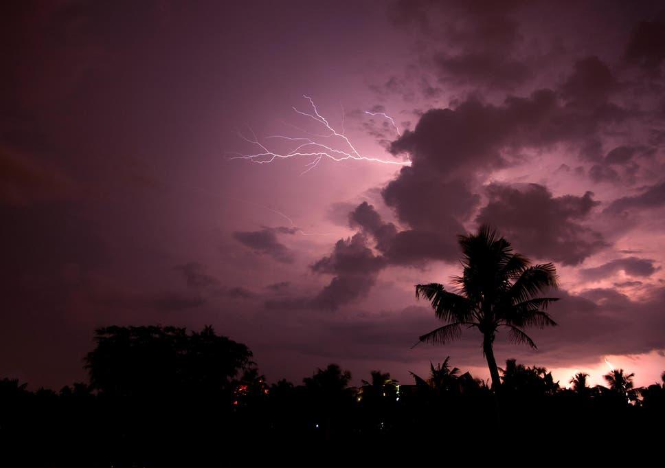 Lightning Strike In India