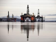 North Sea oil rigs set to be abandoned while still full of