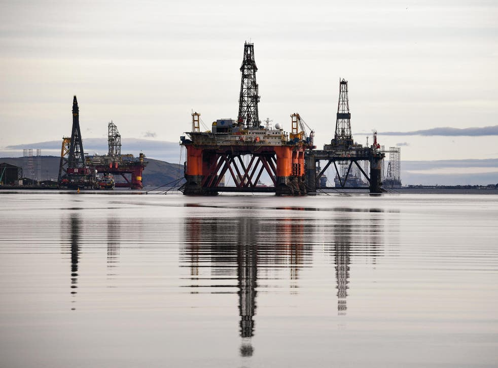 Decommissioning rigs like these will cost the exchequer £24bn in tax reliefs, a report has warned