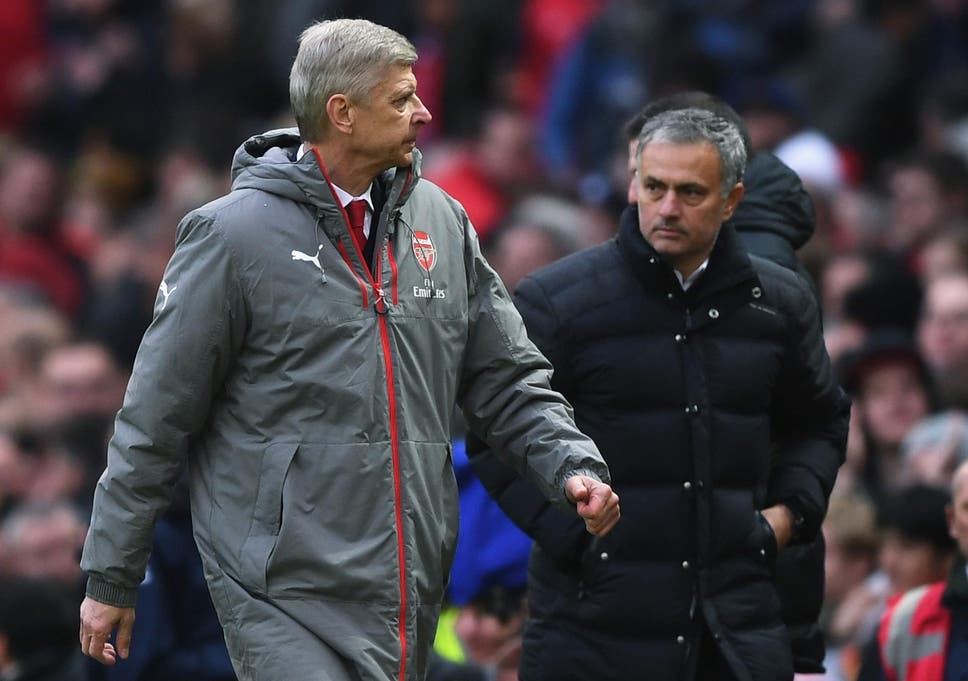 c63a8964c Manchester United manager Jose Mourinho regrets 'little negative episodes'  with Arsene Wenger