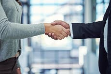 Women are more likely to marry a man with a strong handshake