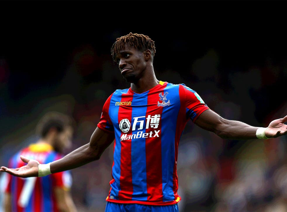 Zaha has improved to become Palace's most reliable match-winner this season
