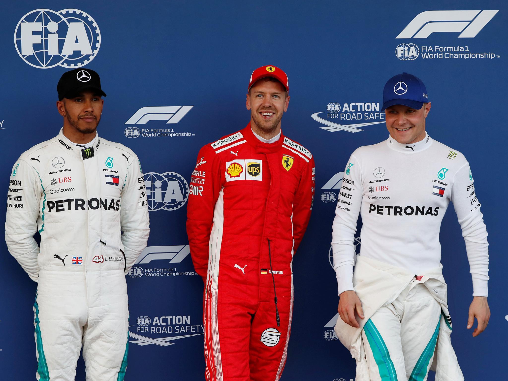 Azerbaijan Grand Prix: Sebastian Vettel holds off Lewis ...