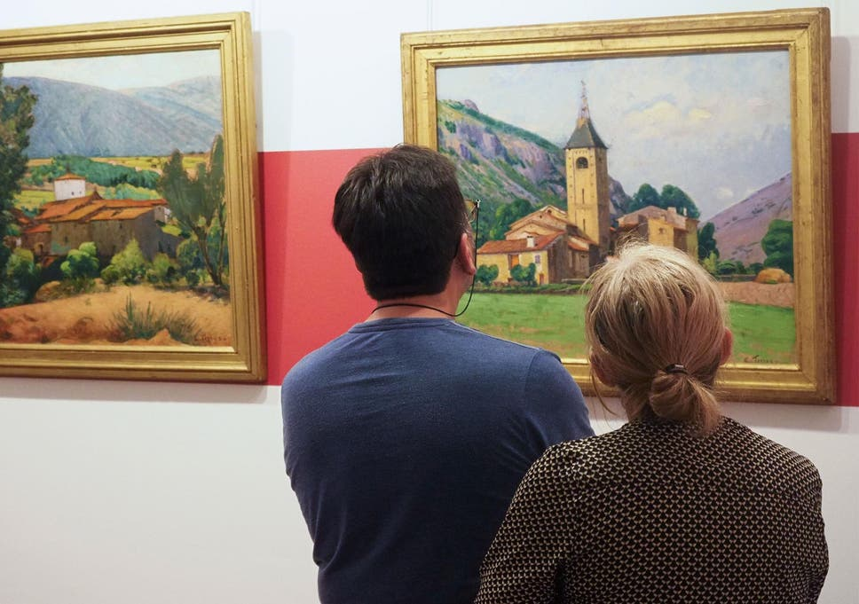 Art gallery discovers more than half of its paintings are