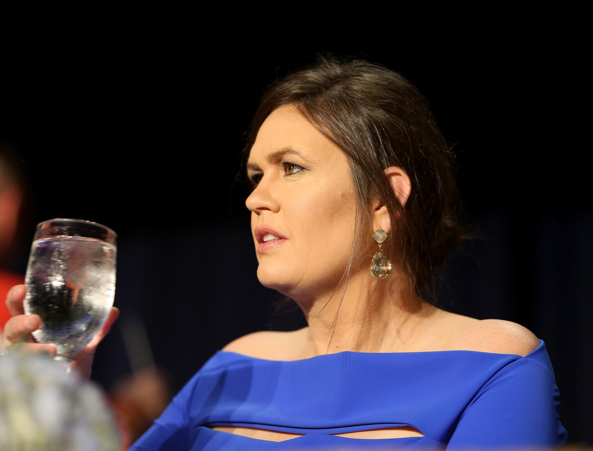 Lauren Nelson Design White House Correspondents Dinner Sarah Sanders Huckabee