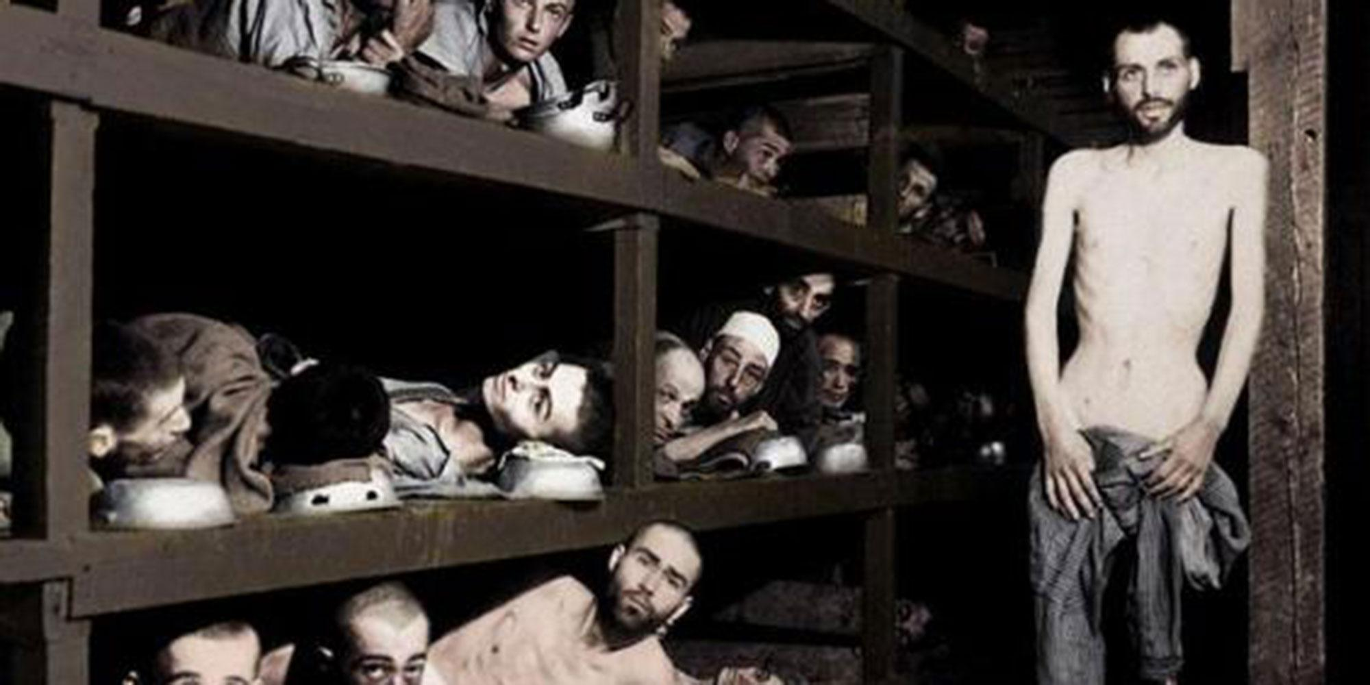 This artist is adding colour to pictures of the Holocaust so we