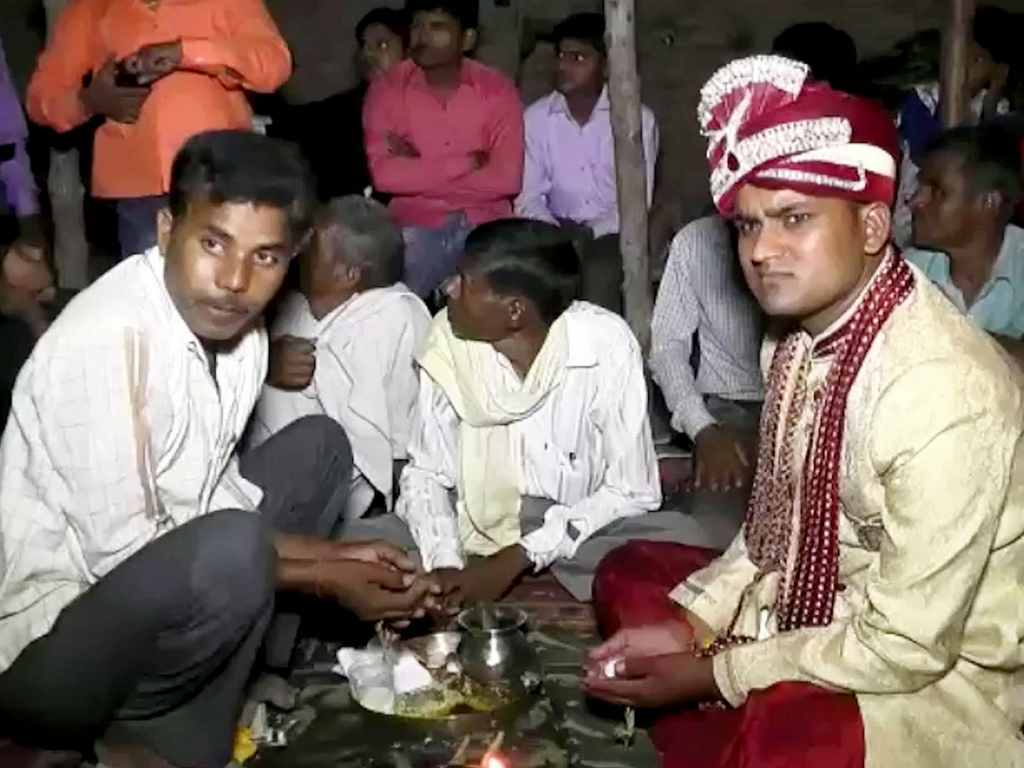 Video captures groom being shot dead at his wedding in India