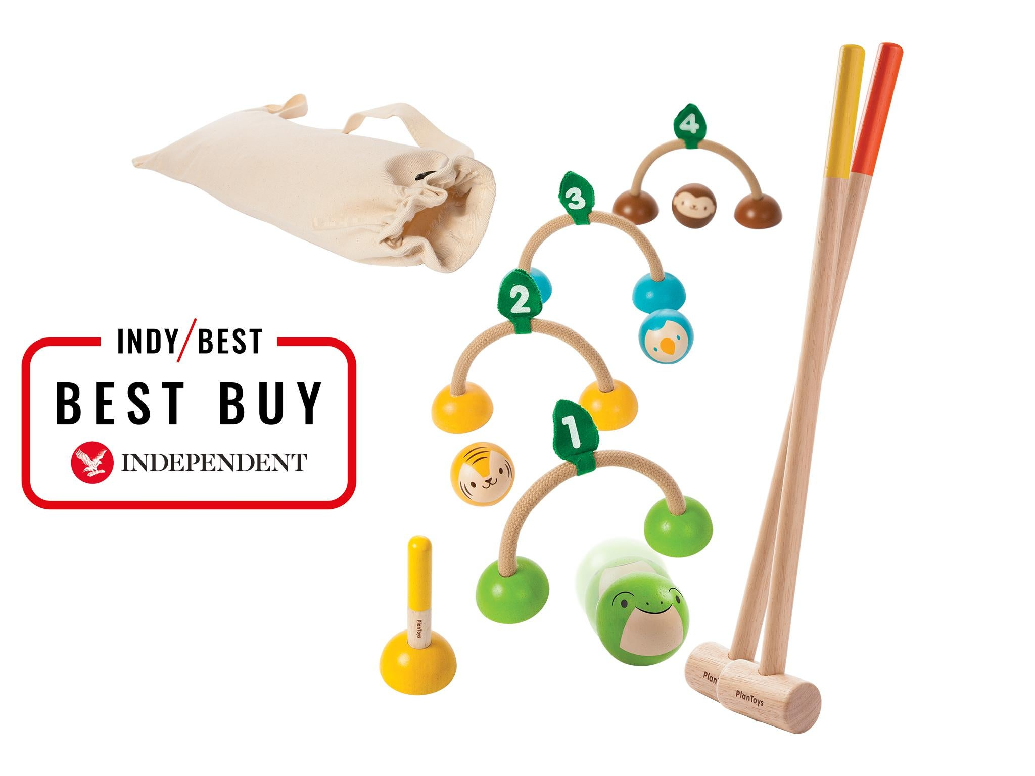 10 Best Eco Friendly Toys The Independent Bouncer Sugar Baby Plan Croquet Set 3995 Babipur