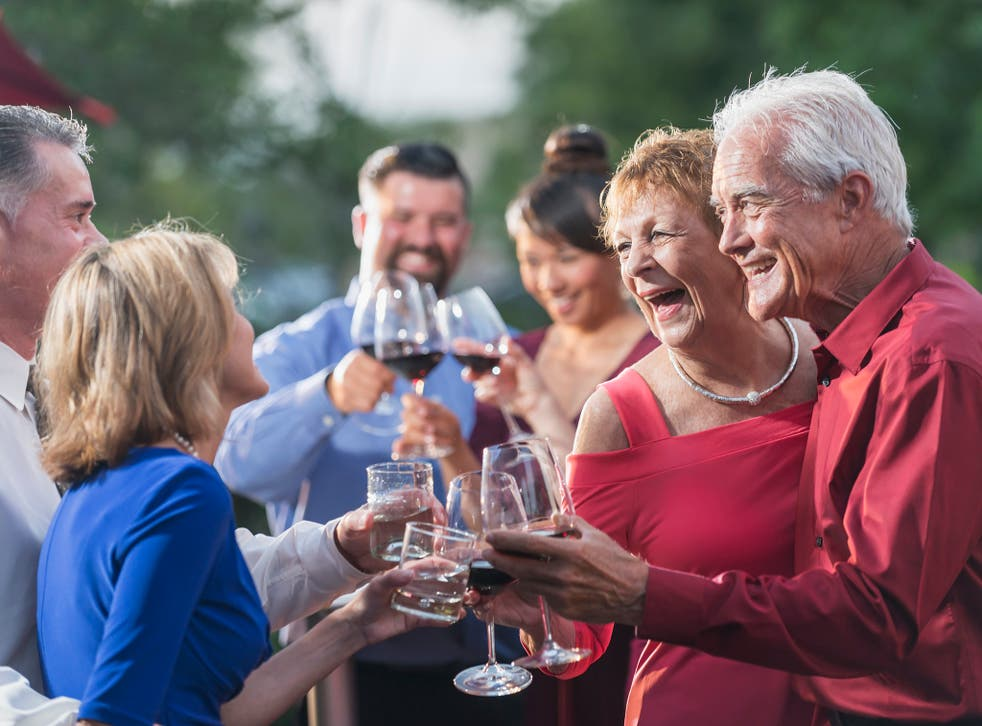 Those aged 55 to 64 are the most likely to be drinking heavily, ONS data shows.