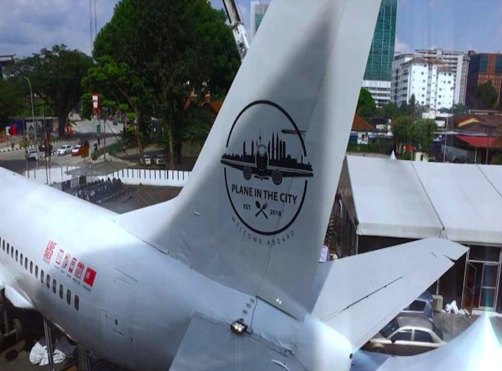 Malaysia's first restaurant in an airplane is now open on Bukit Bintang