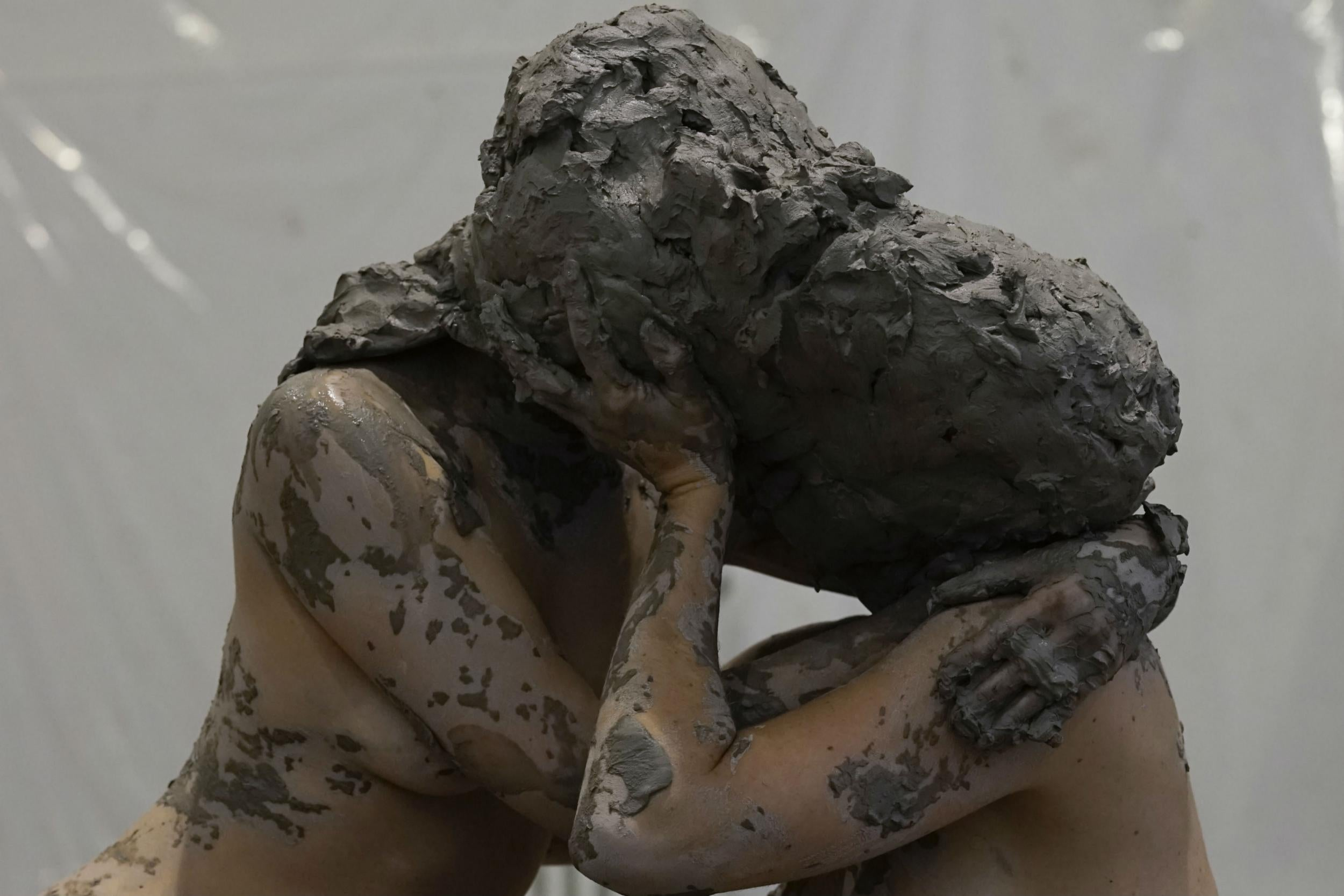 Leaping around naked in clay, painting her girlfriend's vulva... Meet Florence Peake – 'the Lena Dunham of art'