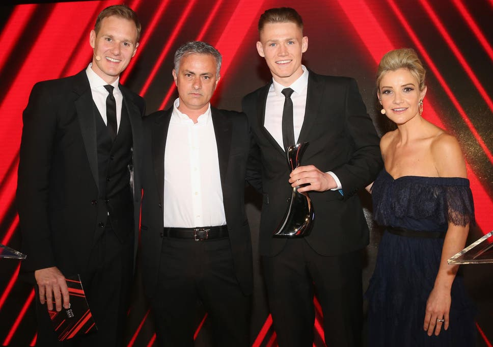 Jose Mourinho reveals why he gave Scott McTominay a special honour ...