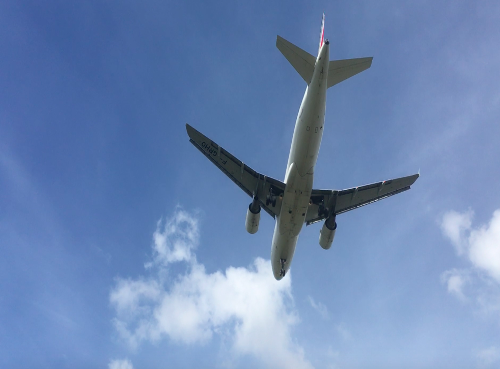 An Airbus A320 approaching Heathrow - MPS have warned of 'adverse impacts on health and quality of life' from expansion