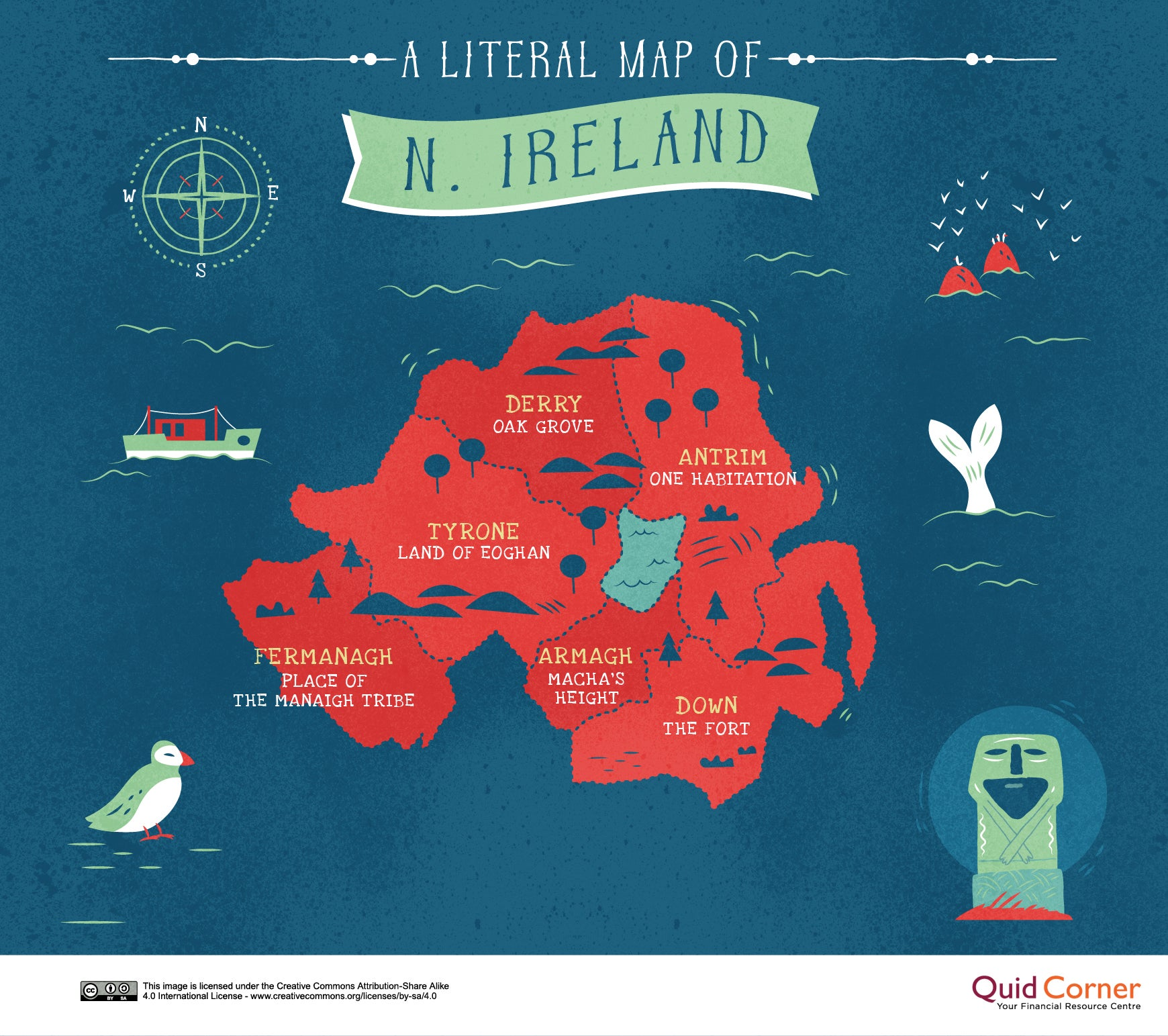 The literal meanings behind Britain's place names, mapped | indy100