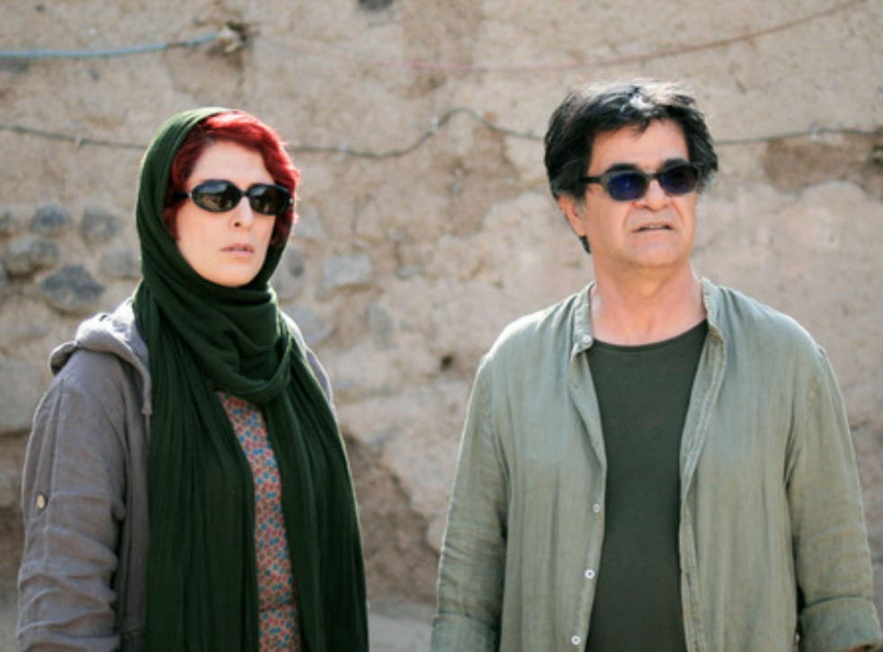 Behnaz Jafari and Jafar Panahi in his film '3 Faces'