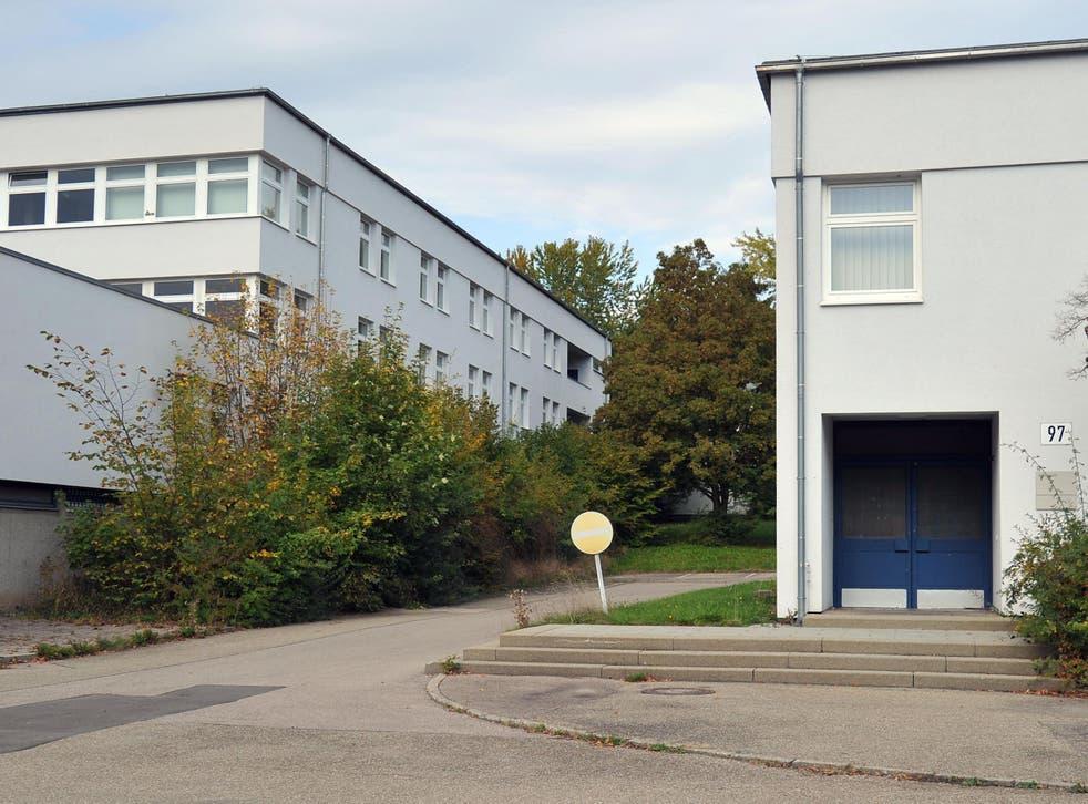 Refugee accommodation at Ellwangen, Germany
