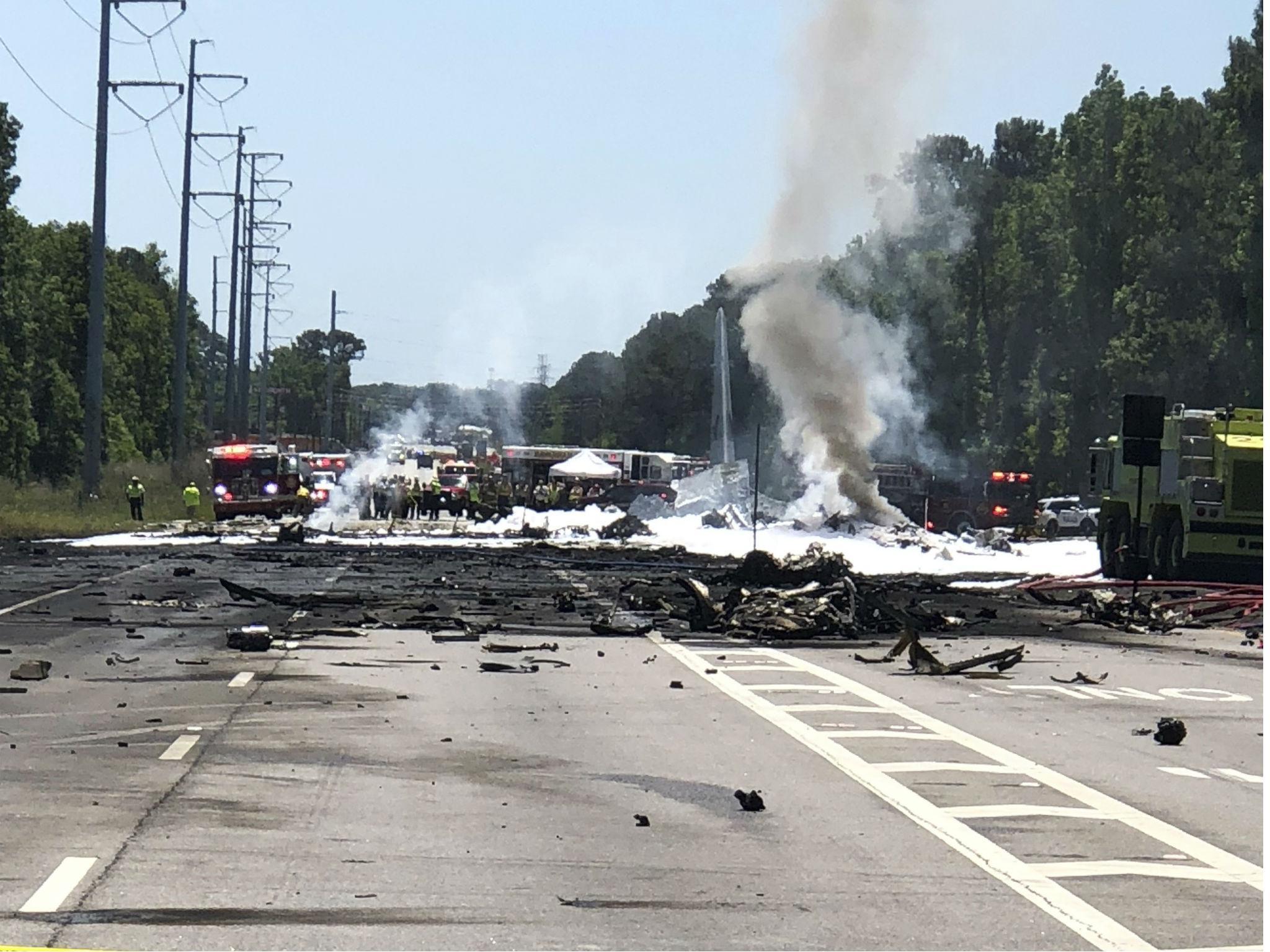 Hero' Savannah plane crash pilot 'tried to avoid pedestrians on