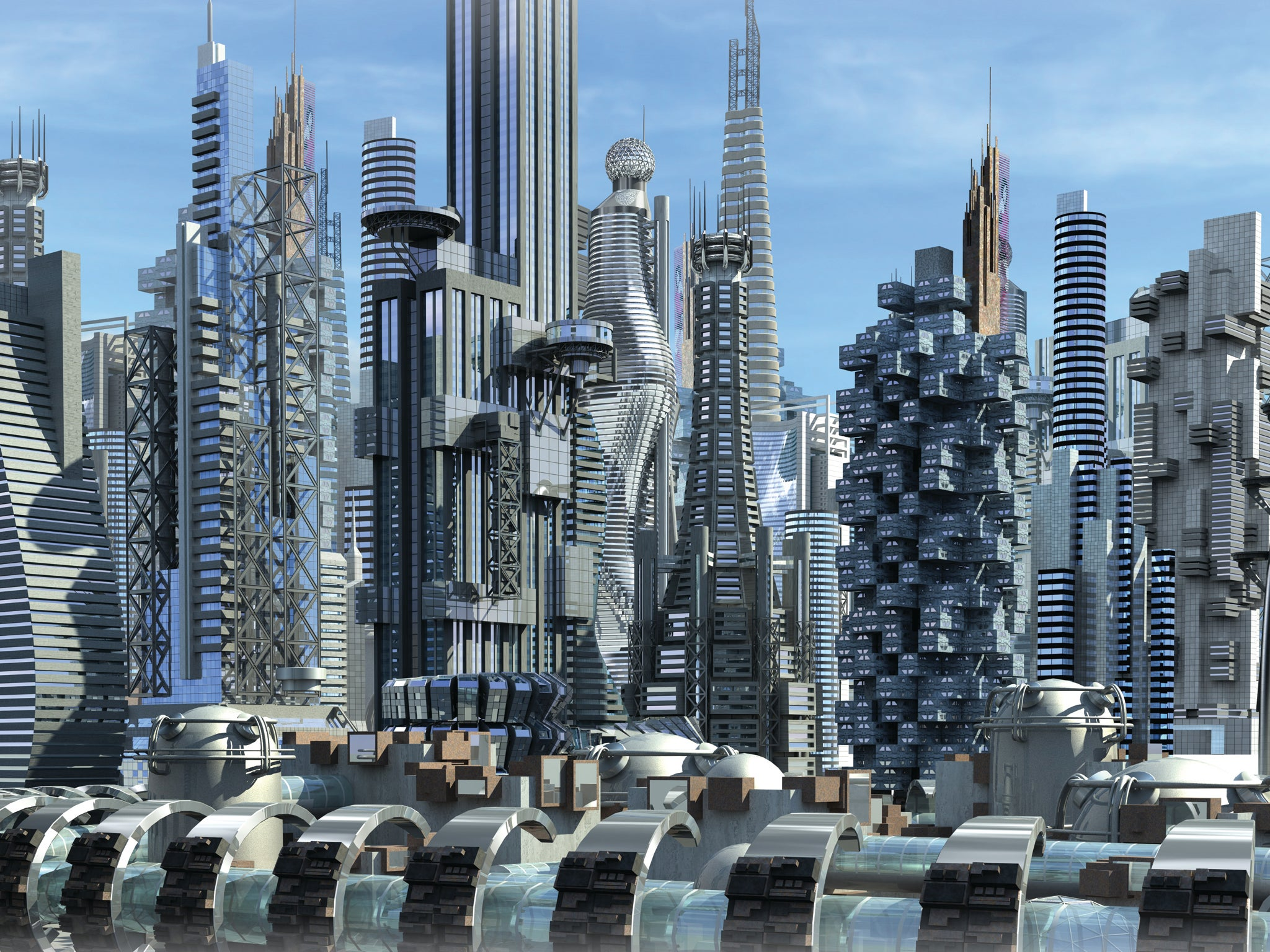 Robot Cities: Three Urban Prototypes That Could