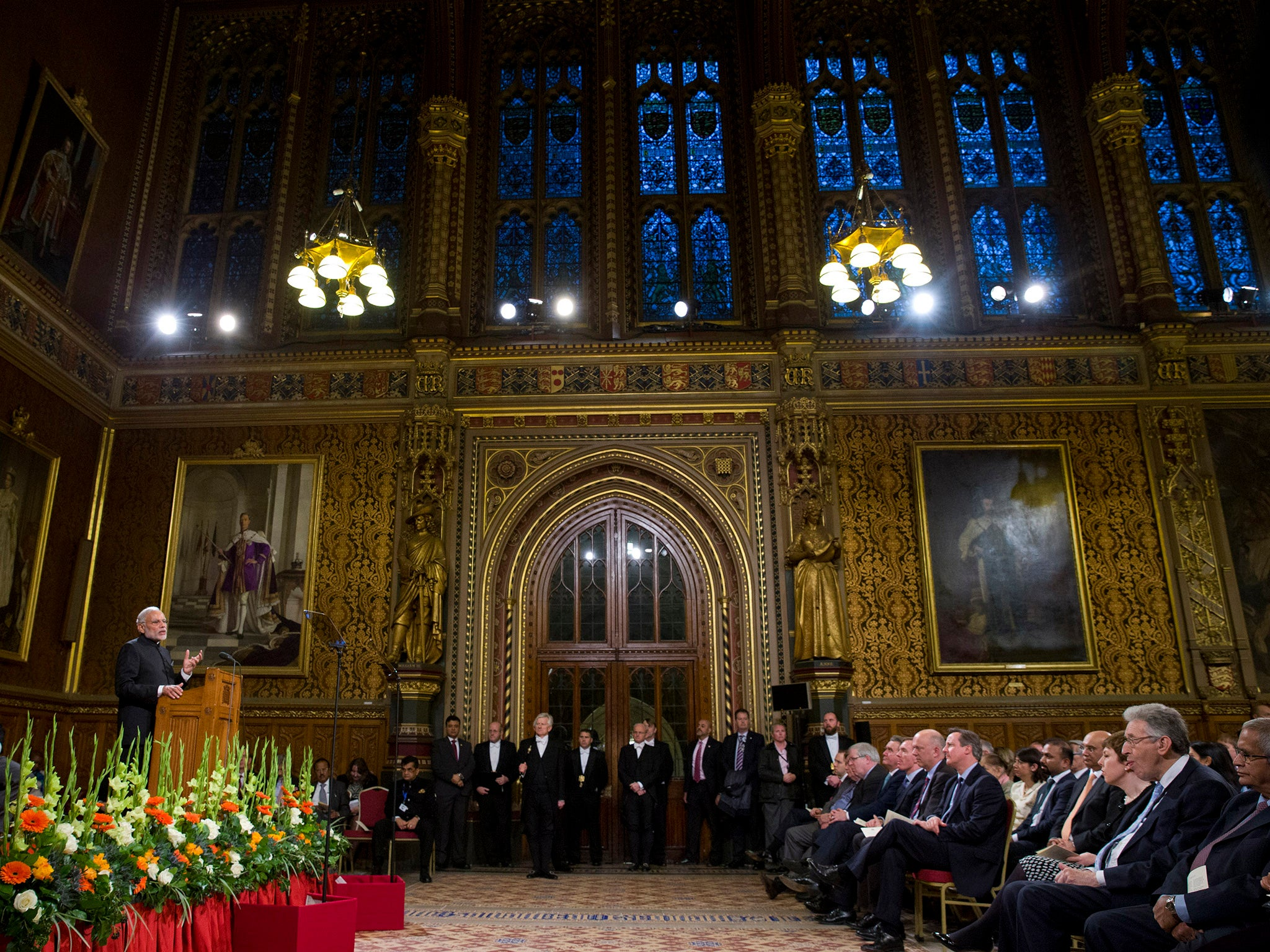 Lords plan to let Trump address Parliament in defiance of