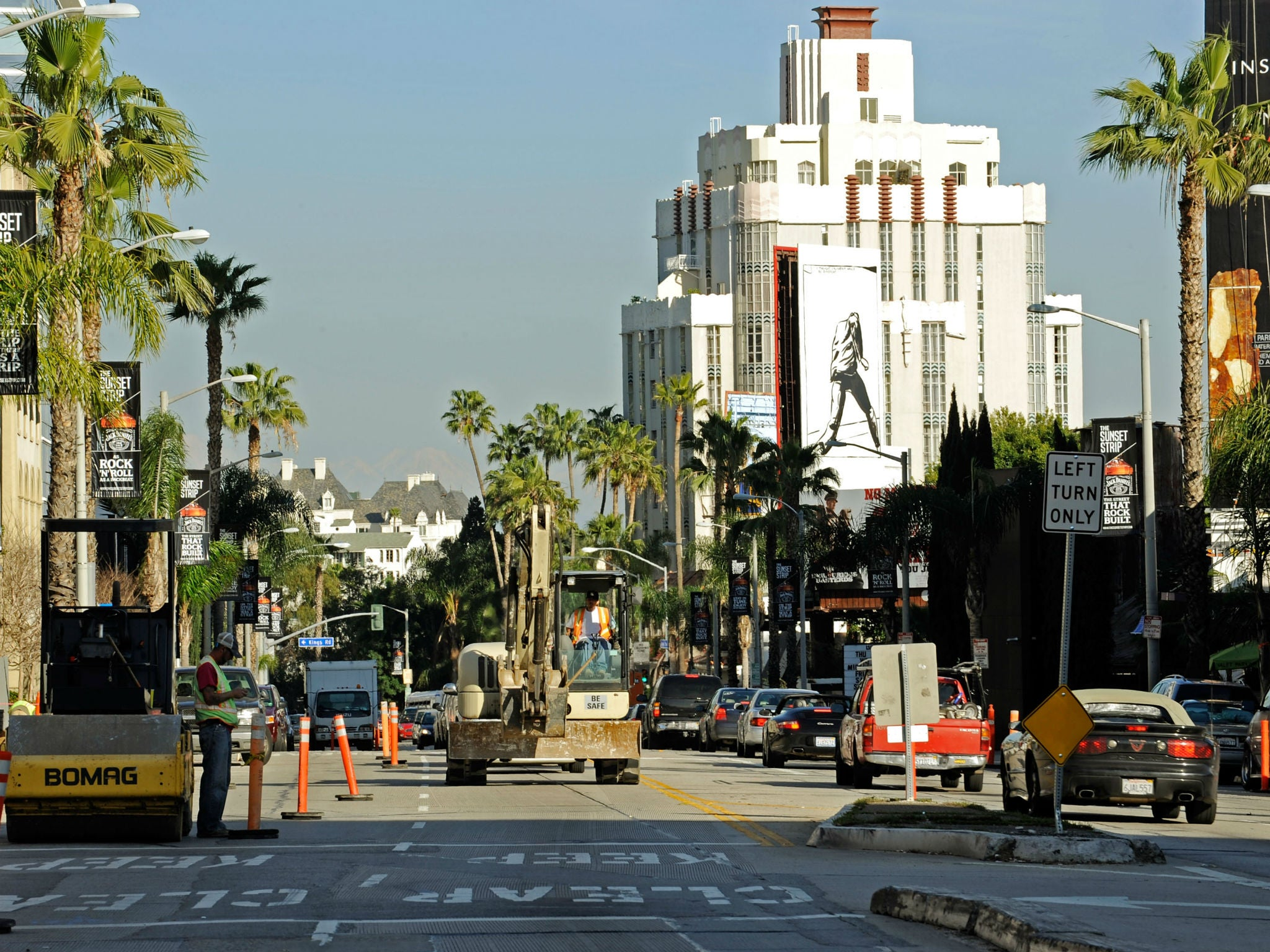 Earthquake could devastate California's Sunset Strip, study finds