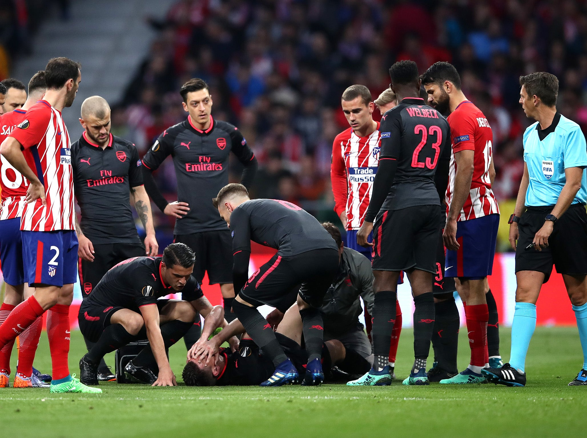 ef7101187 World Cup 2018  France confirm Arsenal defender Laurent Koscielny will miss  the tournament in Russia