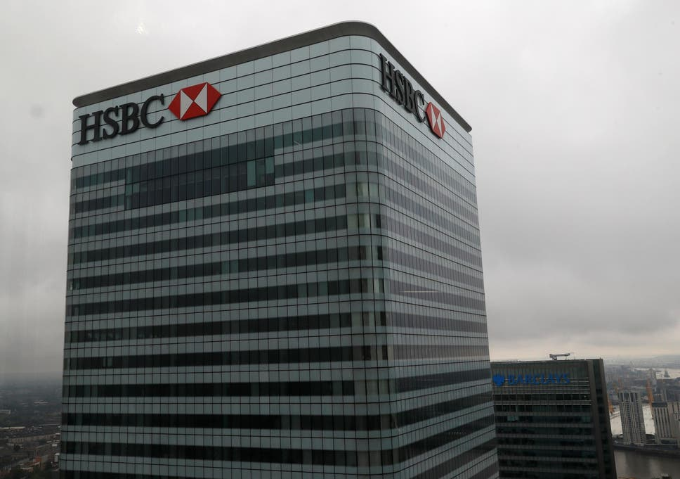 HSBC profits fall as bank's spending outgrows revenue in