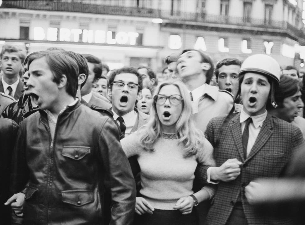 The Paris riots of May 1968: How the frustrations of youth brought ...
