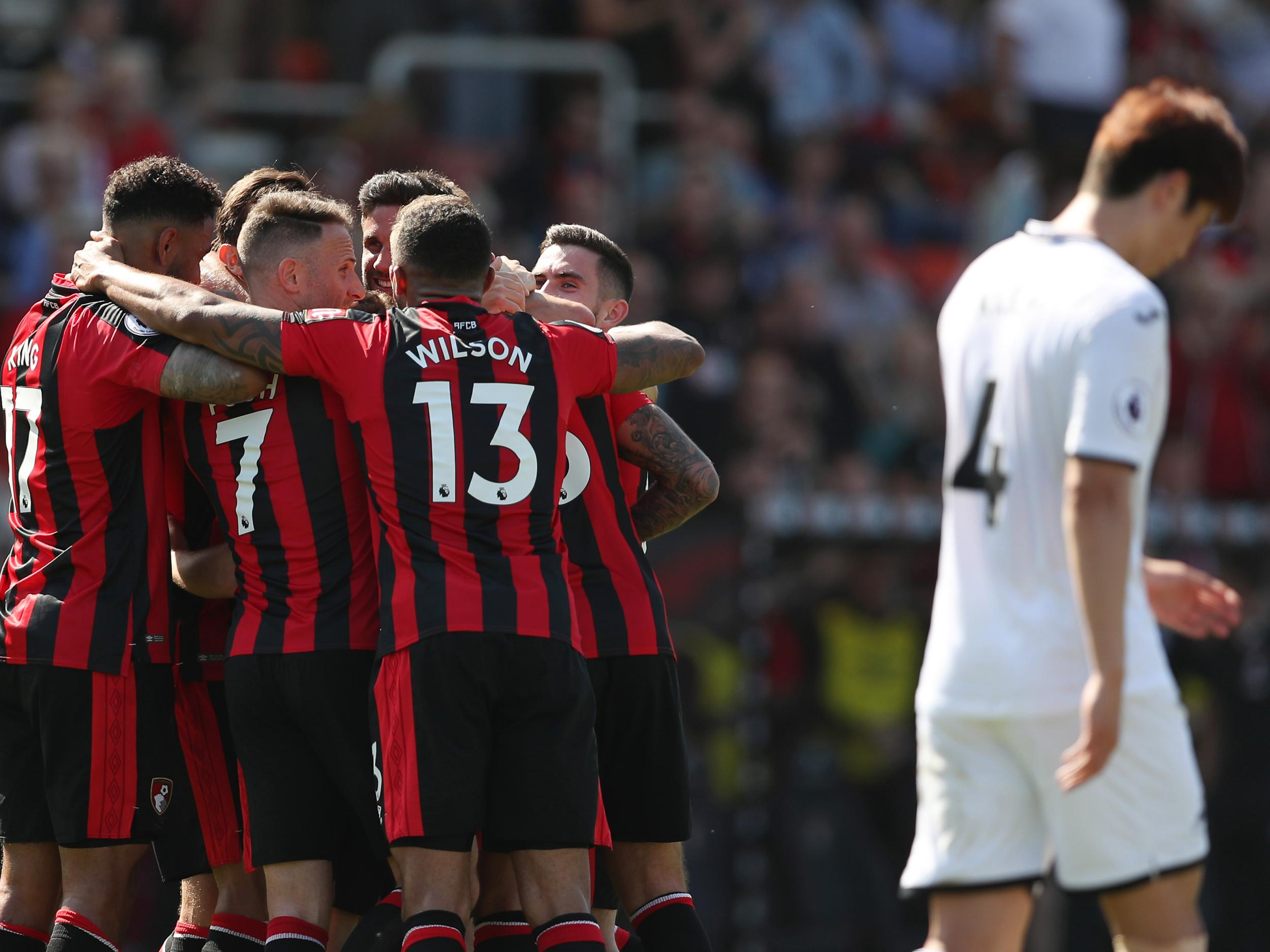 Swansea remain in deep relegation trouble as Bournemouth earn all three points