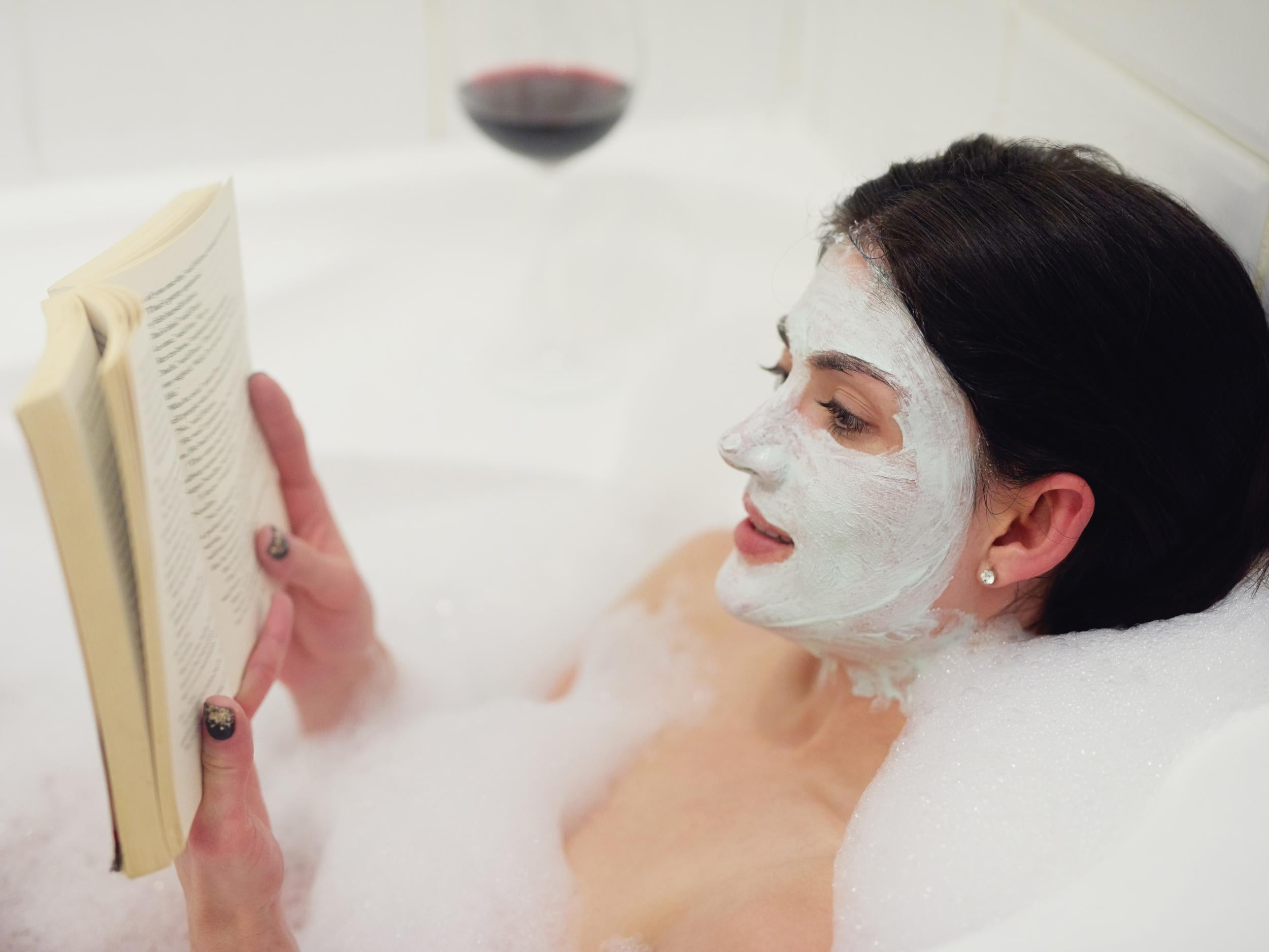 Reading, bathing and watching films are among favourite ways Britons ...