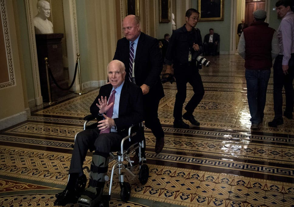 John McCain says he 'doesn't want Donald Trump at his funeral' | The
