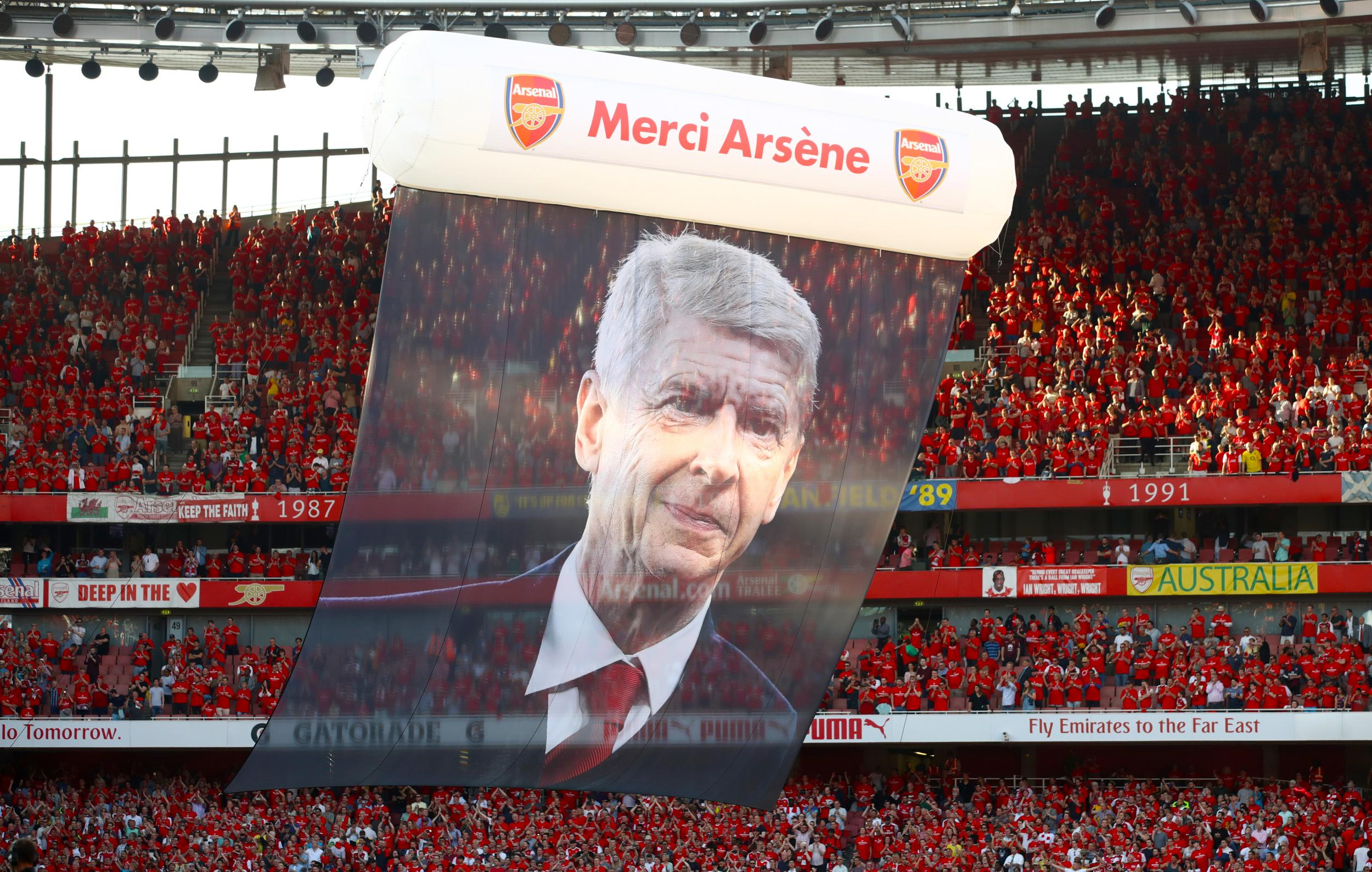 A weird day at Arsenal to forebode the weirder days yet to come without Arsene Wenger – and no one knows what's next